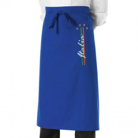 Grembiule Cuoco 4 Stelle azzurro