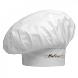 Cappello Cuoco Bianco 4 Stelle